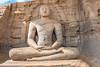 J3. Polonnaruwa - Gal Viharaya (Meditation) (Darth Jipsu) Tags: carving historic cholas landmark srilanka lotus buddha galviharaya religion unesco buddhism polonnaruwa ruins parakramabahu ceylon ceylan architecture meditation statue sacred temple shrine nissankamallapura northcentralprovince lk