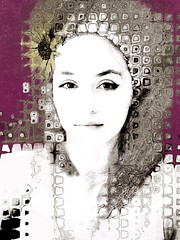 My Funny Valentine xoxo (lorenka campos) Tags: brokenhearts portraits artdigital mobileartistry popart modernart art grief girls women daughters love