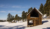 The Landers Homestead (Kim Tashjian) Tags: homestead crazymountains barn cabin winter montana snow