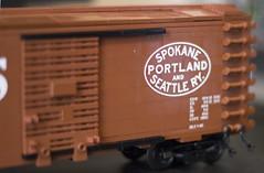 SP&S 3 (Jeffinslaw) Tags: lego moc boxcar sps union pacific train