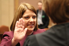 Senator Karla Bigham Swearing In Ceremony