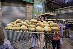 Fresh Pitta bread from the oven (T Ξ Ξ J Ξ) Tags: egypt cairo fujifilm xt2 teeje fujinon1655mmf28 souk aswan pitta bread