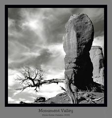Monument Valley (Terra Pixelis) Tags: monumentvalley usa nikond70 blackwhite noirblanc