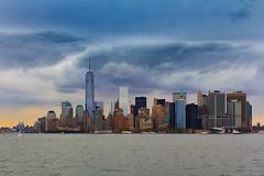 Manhattan by Staten Island Ferry (Oliver Weihrauch) Tags: nyc newyork skyline skyscraper manhattan