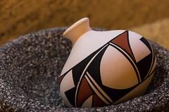 Southwestern 17 of 365 (Year 5) (bleedenm) Tags: 2018 january winter vase stilllife pottery