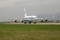 Ил-96 на рулении (Viacheslav Smolensky) Tags: 2007 аэропорты ил96 командировки самолеты сахалин хомутово южносахалинск airunion krasair