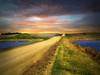Prairie road 22 (mrbillt6) Tags: landscape rural prairie road gravel ponds northdakota outdoors country countryside