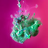 Nebula (Pentax_Phil) Tags: 52project2018 macro paint water liquid cloud