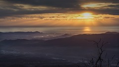 Morning light. (ChusPS) Tags: montseny catalunya catalonia barcelona nature color light sun sunrise morning sea winter landscape nikon nikkor manfrotto d7100 blanes girona