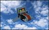 The Ol' Skycar (Karf Oohlu) Tags: lego moc microfig skycar sky fi scifi