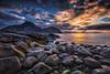 Beautiful night (steinliland) Tags: night lofotenisland rollingstones coastal arctic