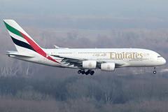 Emirates Airbus 380-861 A6-EUI (c/n 221) (Manfred Saitz) Tags: vienna airport schwechat vie loww flughafen wien emirates airbus 380 a380 a388 a6eui a6reg