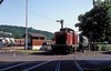 212 021  Bad Neustadt  24.05.89 (w. + h. brutzer) Tags: badneustadt eisenbahn eisenbahnen train trains deutschland germany diesellok dieselloks railway lokomotive locomotive zug 212 214 714 db v100 webru analog niko