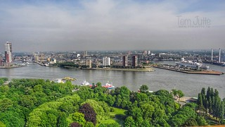 View from Euromast, Rotterdam, Netherlands - 5276