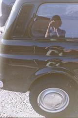 2 e mezza by laetitia.delbreil - Missing summer... I love vintage cars. Bologna, august 2016  Pentacon Praktica B200 Pentacon Prakticar 50 mm 1:1.8 Unknown roll (200 ISO) from negative film