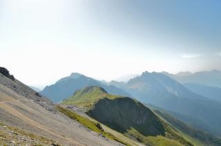 En route to the Filmoor-Standschützenhütte, Dolomites