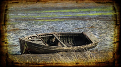 End of life (alangraham24) Tags: scotland boats wreck textured carbost