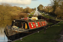 The Flight of Canal Locks at Caen Hill Devizes. (Meon Valley Photos.) Tags: the flight canal locks caen hill devizes