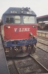N474 Spencer St (tommyg1994) Tags: west coast railway wcr emd b t x a s n class vline warrnambool geelong b61 b65 t369 x41 s300 s311 s302 b76 a71 pcp bz acz bs brs excursion train australia victoria freight fa pco pcj