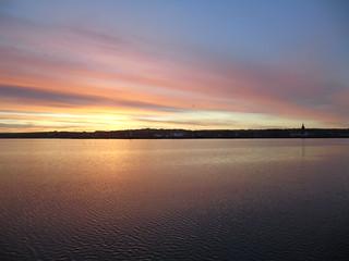 Sunrise over Kirkwall
