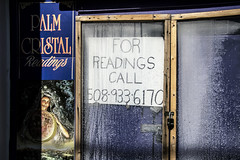 Readings--Off Season (PAJ880) Tags: psychic readings offseason provincetown ma commercial st sign closed winter