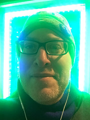 Day 2240: Day 50: Green (knoopie) Tags: 2018 february iphone picturemail doug knoop knoopie me selfportrait 365days 365daysyear7 year7 365more day2240 day50