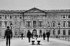 Les fantômes de l'hiver - The ghosts of winter (P. Eric) Tags: neige paris personnes pontdesarts sundaylights