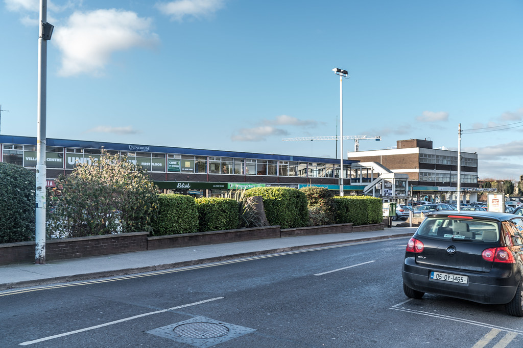 THE ORIGINAL DUNDRUM SHOPPING CENTRE BECAME A GHOST MALL FOR A WHILE [NOW REBRANDED AS DUNDRUM VILLAGE CENTRE]-135264
