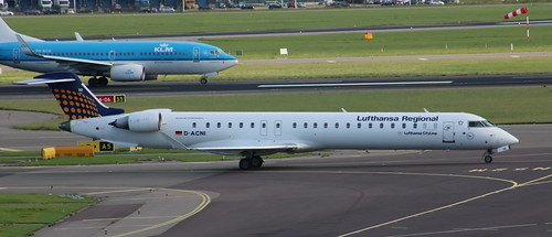 D-ACNI Bombardier CRJ 900LR NG Lufthansa Regional operated Lufthansa Cityline