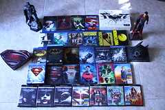 Dc comics films universe (acido askorbiko) Tags: dc dccomics films movies friki collector batman superman wonderwoman nolan snyder donner burton watchmen bluray uhd collection