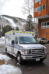 Eagle County Paramedic Service (zamboni-man) Tags: beaver creek vail eagle county co colorado fire police ems public safety valley regional skiing resort district snow ski devner boulder mountin school pierce ambulance