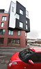 reddies (Harry Halibut) Tags: 2018©andrewpettigrew allrightsreserved imagesofsheffield images sheffieldarchitecture sheffieldbuildings colourbysoftwarelaziness sheffield south yorkshire rotrossorougerood sheff1712315567 curved corners sheffieldcurvedcorners alma streeet bowling green lane newbuild flats apartments red brick black crinkly tin industrial law courts kelham island