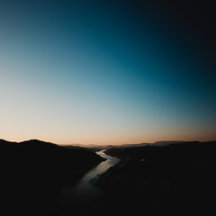 Geumgang (cappyno9@ymail.com) Tags: 공주시 충청남도 대한민국 kr river landscape mountain sky sunset golden hour longexposure abstract minimal minimalism
