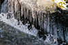 Frozen Ice, Frozen Water (tquist24) Tags: connecticut newengland nikon nikond5300 sprucebrook sprucebrookfalls brook cold creek geotagged ice icicles stream water waterfall winter beaconfalls unitedstates