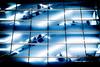 エスカレーターーescalator (kurumaebi) Tags: kobe 神戸市 fujifilm xt20 motomachi 三宮 street 街 dusk センター街 交差点 intersection