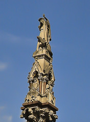 A0242LONDONb (preacher43) Tags: london england westminster abbey building architecture statues spire columns