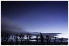 Azul (cristinatiad) Tags: color sunset trees globe canon street