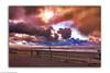 Sylt Impressionen - Sonnenuntergang als Gemälde (J.Weyerhäuser) Tags: sylt westerland sturm photoshop gemälde