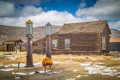 Old gas pumps (Diane Meade-Tibbetts) Tags: classic old roadtrip history architecture bodiestatehistoricpark antique gaspumps retro bodieca