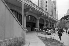 No Biggie.jpg (Milosh Kosanovich) Tags: womanwithfaceburiedinphone chicago bwfilm minoltax700 tiny film vintagefilm epsonv750pro kodaktmaxrsdeveloper miloshkosanovich chicagophotographicart kodaktmax100 chicagophotoart mickchgo chicagophotographicartscom outdoordining riverfrontwalk