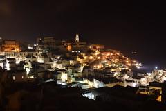 Sassi di Matera (DusanV) Tags: italy matera night winter lights town