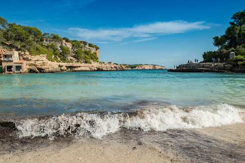 Cala Llombards beach Mallorca, Spain