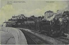 Caminho-de-ferro no Monte Estoril (Arquivo Histórico Municipal de Cascais) Tags: arquivohistóricomunicipaldecascais cascais monteestoril caminhodeferro