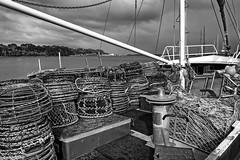 Loaded and ready for sea. (Ian Ramsay Photographics) Tags: loaded ready sea strahan tasmania australiafishing trawler cray pots