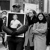 Marching For Her (Anne Marie Clarke) Tags: memorial breastcancer family husband daughters march 2018 protest mourning womensmarch2018 blackandwhite 7dwf