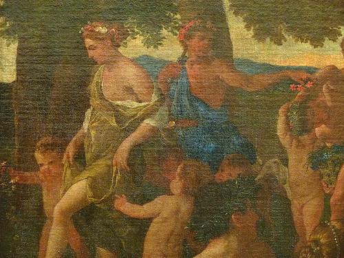 POUSSIN Nicolas,1627-28 - Le Triomphe de Flore (Louvre) - Detail 065
