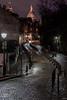 Montmartre after raining (Julien Rode) Tags: city france montmartre monuments nuit paris pavés portfolio rue ville