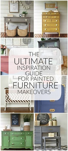 DIY Home Decor Ideas: The Ultimate Painted Furntiure Inspiration Guide Over 30 BEAUTIFUL painted fur...