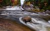 Big Niagara Falls, Baxter State Park, Maine (jtr27) Tags: dscf2792xle jtr27 fuji fujifilm fujinon xt20 xtrans xf 1855mm f284 rlmois kitlens kitzoom longexposure autumn maine newengland foliage nesowadnehunk bigniagarafalls baxterstatepark