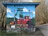 Zeche Carl Funke (h.bresser) Tags: zeche carlfunke hbresser hartmutbresser essen nrw heisingen germany deutschland förderturm streetart graffiti fassadenmalerei